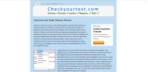 CheckYourText.com Review