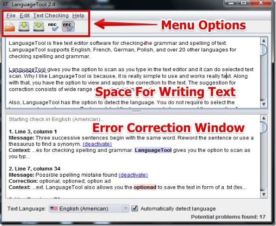 english grammar and sentence checker software free download